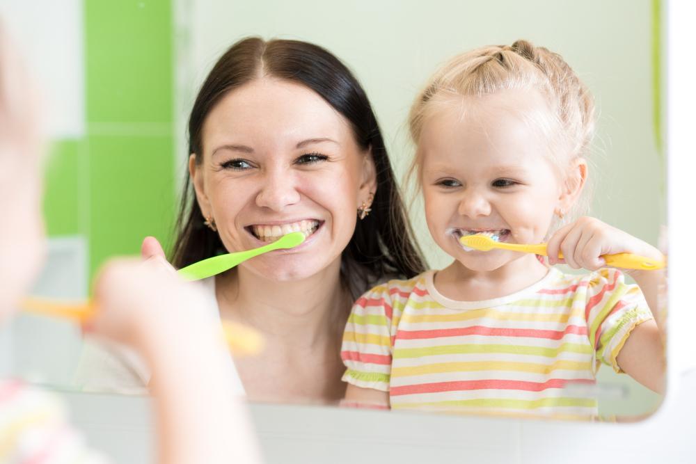 Teaching Good Brushing Habits