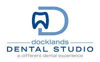 Docklands Dental Studio Sticky Logo Retina